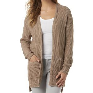 Metaphor | Blush Pink Buttonless Cardigan